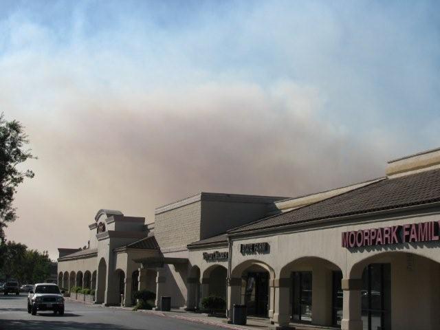 L'épicerie du coin, Ralph's et la fumée du feu Guiberson.
